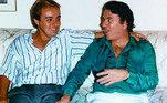 O saudoso apresentador Gugu Liberato teve uma amizade de longos anos com Silvio, sempre com boas relações profissionais