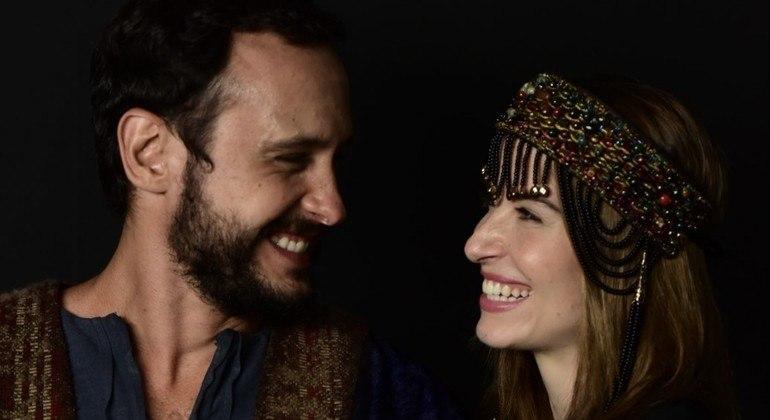 Guilherme e Barbara repetem parceria na sexta fase da novela Gênesis