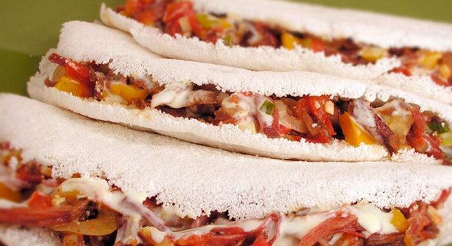 Guia da Cozinha - 11 opções de recheio para tapioca