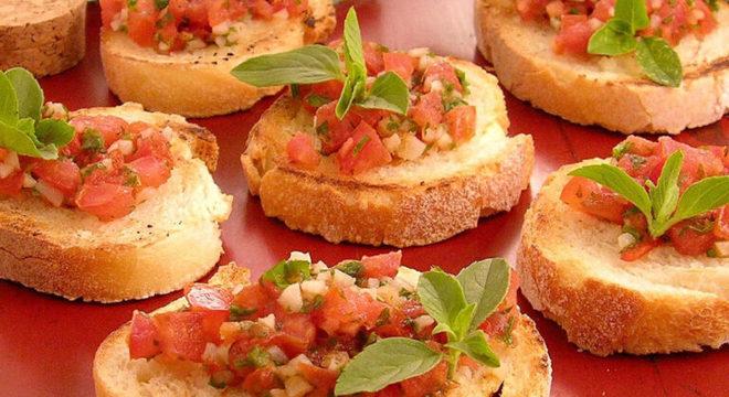 Guia da Cozinha - 5 receitas de bruschetta deliciosas e práticas