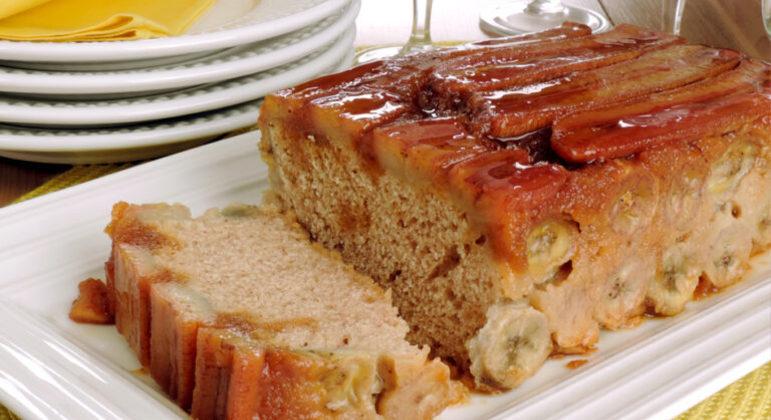 Guia da Cozinha - 7 receitas de bolo de banana fáceis e deliciosas
