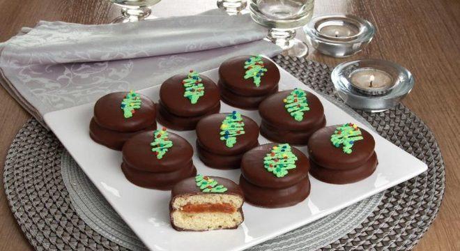 Guia da Cozinha - Alfajor natalino: ideal para presentear e surpreender