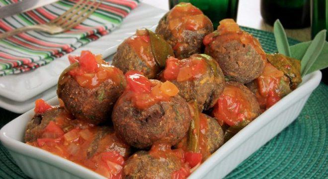 Guia da Cozinha - Almôndega de legumes diferente para incrementar as refeições