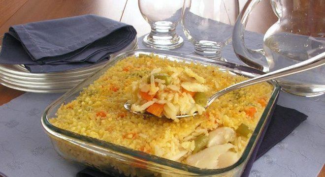 Guia da Cozinha - Arroz de bacalhau para um almoço prático e saboroso