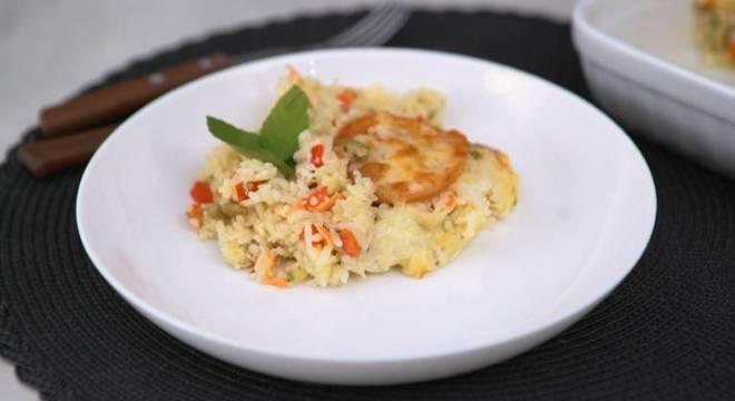 Guia da Cozinha - Arroz de forno vegetariano: pronto em 30 minutos