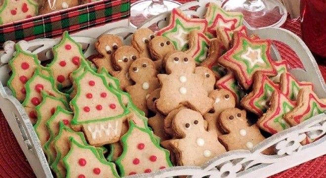 Guia da Cozinha - Biscoitos decorados de Natal para provar e aprovar