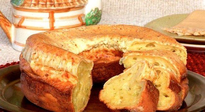 Guia da Cozinha - Bolo de pão de queijo