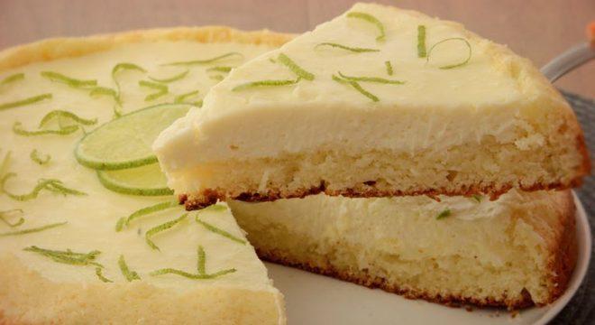 Guia da Cozinha - Bolo-torta de limão cremoso