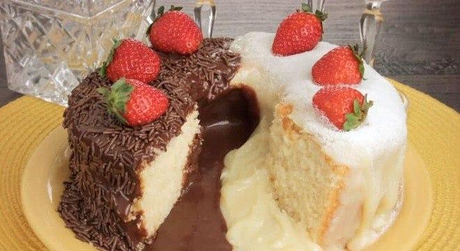 Guia da Cozinha - Bolo vulcão: 5 receitas que transbordam sabor para testar na Páscoa