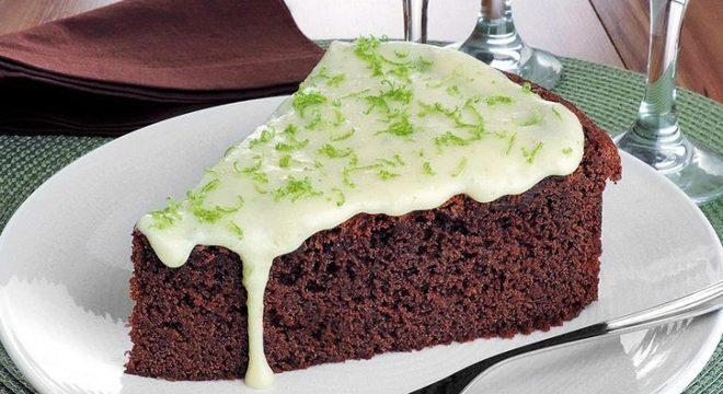 Guia da Cozinha - Brownie fácil de chocolate com limão: pronto em 40 minutos