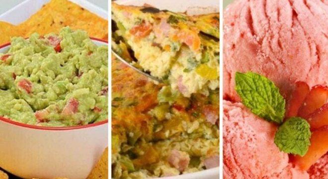 Guia da Cozinha - Cardápio sem lactose: opções de entrada, prato principal e sobremesa