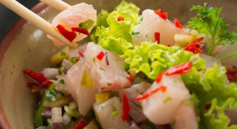 Guia da Cozinha - Ceviche de tilápia: opção de refeição diferente e fácil