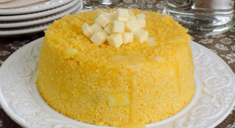 Guia da Cozinha - Cuscuz nordestino com queijo coalho pronto em 20 minutos