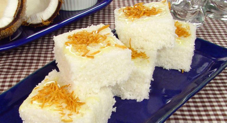 Guia da Cozinha - Doce de tapioca com coco pronto em 20 minutos