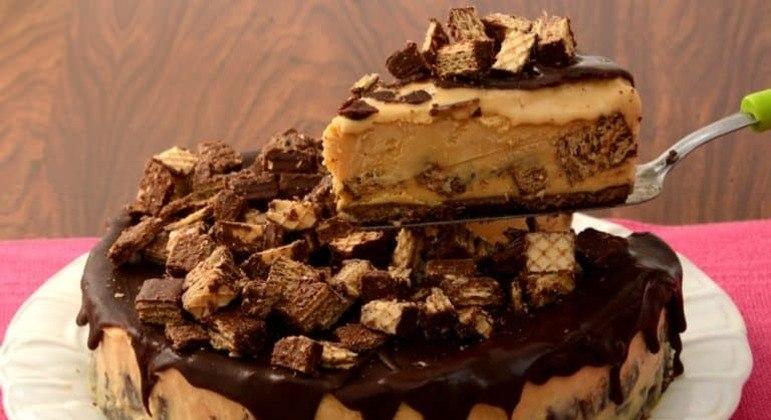 Guia da Cozinha - Faça uma deliciosa torta de Bis® gelada no Dia das Mães