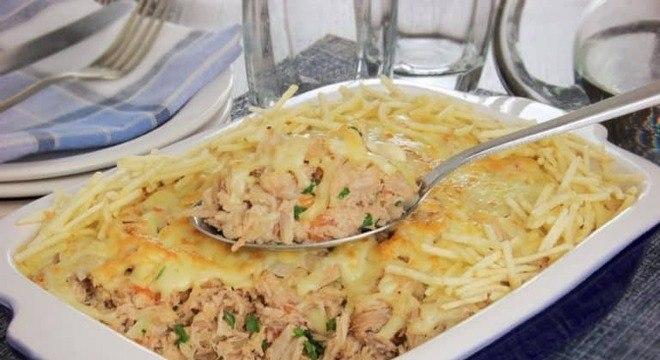 Guia da Cozinha - Fricassê de pernil com queijo para uma refeição irresistível
