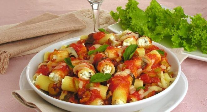 Guia da Cozinha - Maneiras deliciosas de inovar no preparo do rigatoni