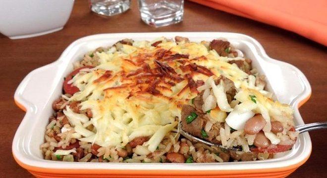 Guia da Cozinha - Mexidinho de forno com queijo coalho: rápido e fácil!