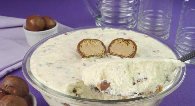 Guia da Cozinha - Mousse de leite condensado com Sonho de Valsa®