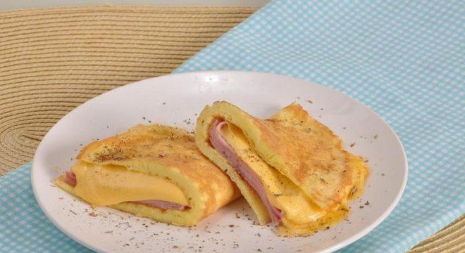 Guia da Cozinha - Omelete misto-quente fácil pronto em 20 minutos