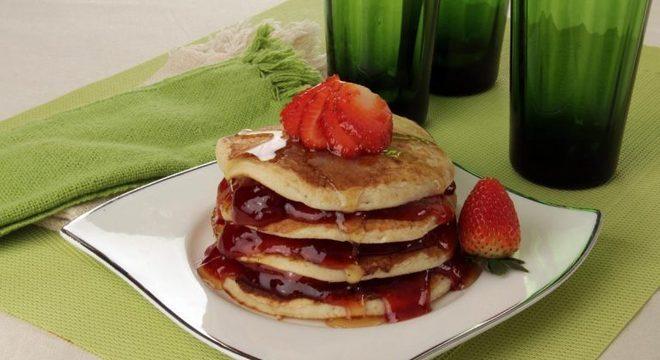 Guia da Cozinha - Panqueca americana para um café da manhã de cinema