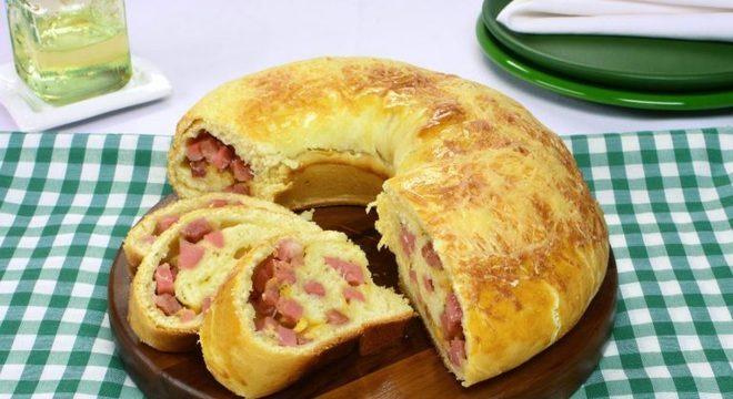 Guia da Cozinha - Pão de frios gratinado perfeito para o brunch