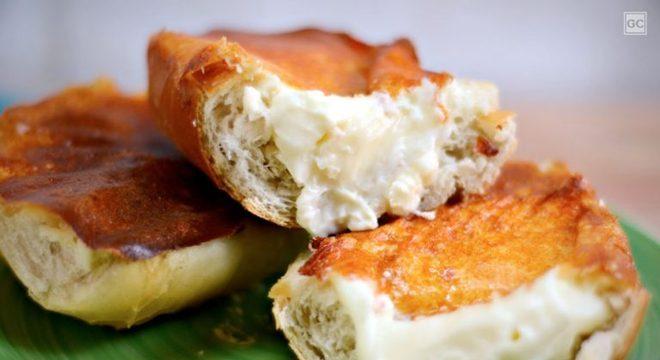 Guia da Cozinha - Pão na chapa com Catupiry®: receita clássica para o lanche da tarde