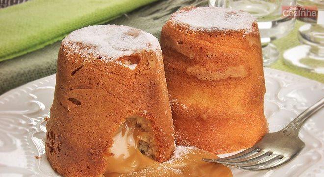 Guia da Cozinha - Petit gâteau de doce de leite: 4 receitas para testar em casa