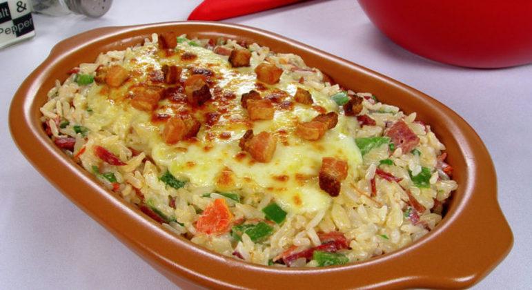 Guia da Cozinha - Receita de arroz de carreteiro cremoso