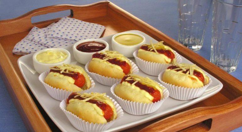 Guia da Cozinha - Receita de mini cachorro-quente