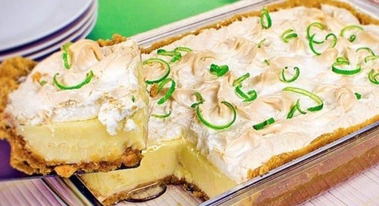 Guia da Cozinha - Receita de torta-mousse de limão deliciosa