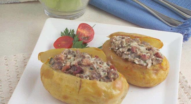 Guia da Cozinha - Receitas de batata assada para o jantar
