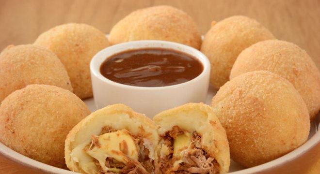 Guia da Cozinha - Receitas de bolinho de batata para aperitivos saborosos