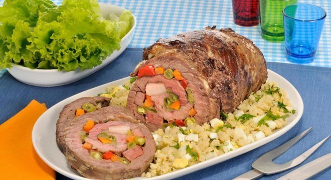 Guia da Cozinha - Receitas de carne recheada para um cardápio especial