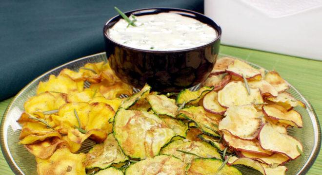 Guia da Cozinha - Receitas de chips para qualquer hora do dia
