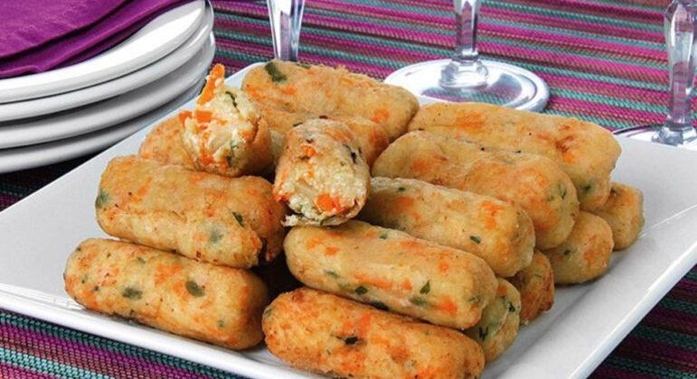 Guia da Cozinha - Receitas de croquete vegetariano para experimentar