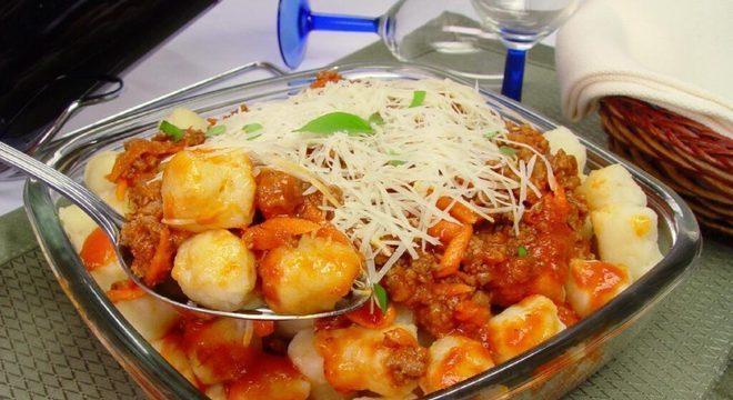 Guia da Cozinha - Receitas de nhoque de batata para toda a família