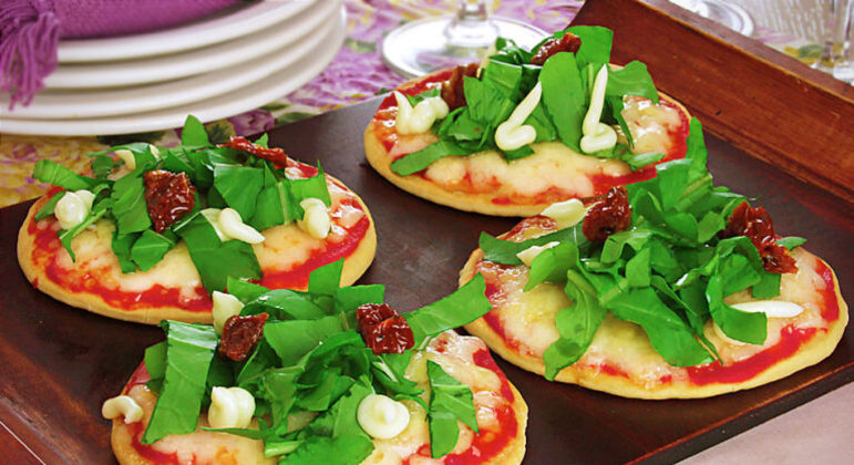 Guia da Cozinha - Receitas de pizza caseira e vegetariana para provar na sexta-feira