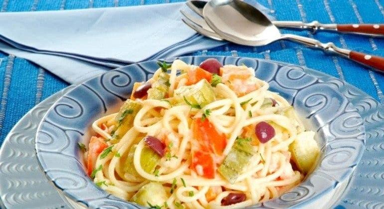 Guia da Cozinha - Receitas fáceis de macarrão com legumes