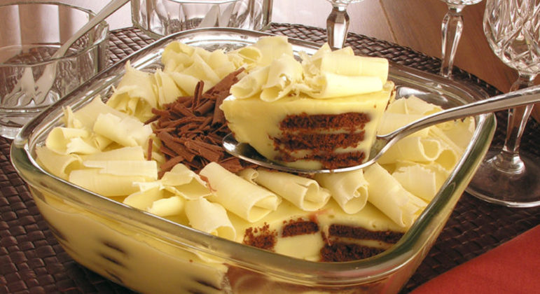 Guia da Cozinha - Sobremesas com chocolate branco irresistíveis