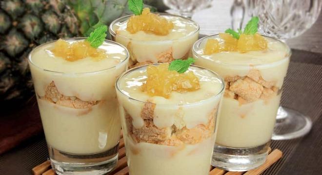 Guia da Cozinha - Sobremesas refrescantes e deliciosas com abacaxi