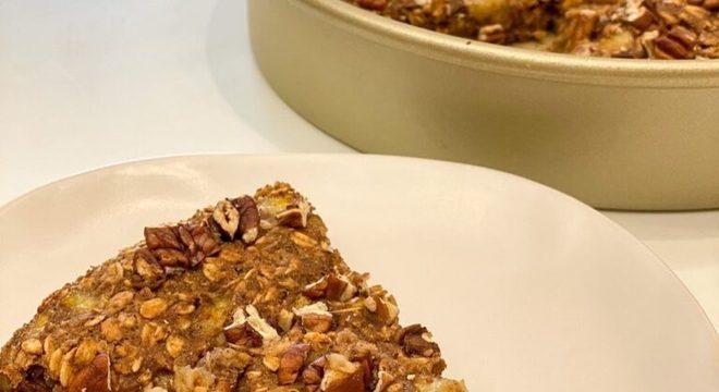 Guia da Cozinha - Torta de banana com aveia: sobremesa saudável e irresistível