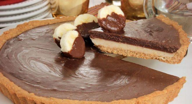 Guia da Cozinha - Torta de banana com Nutella® para uma sobremesa especial