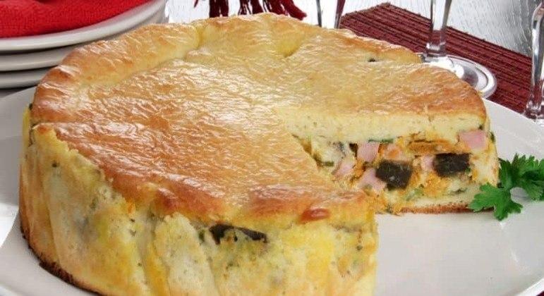Guia da Cozinha - Torta de cenoura e berinjela para um jantar saudável