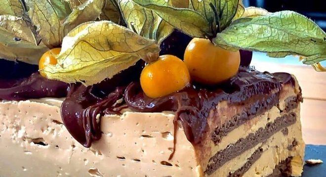 Guia da Cozinha - Torta de doce de leite com café e Nutella®