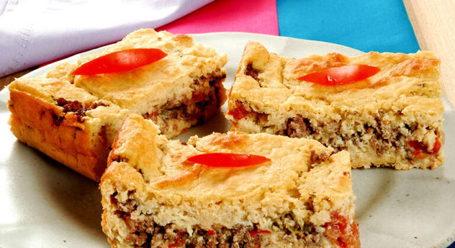 Guia da Cozinha - Torta de grão-de-bico: opção deliciosa para refeições simples