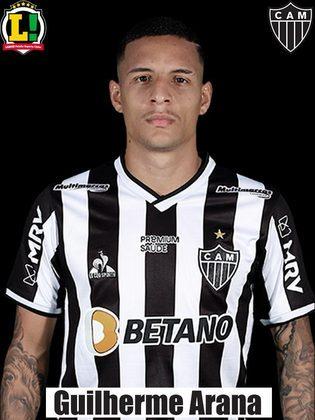 Guilherme Arana - 6,0: Apoiou muito pela esquerda como é de costume, mas não consegui achar os atacantes dentro da área.