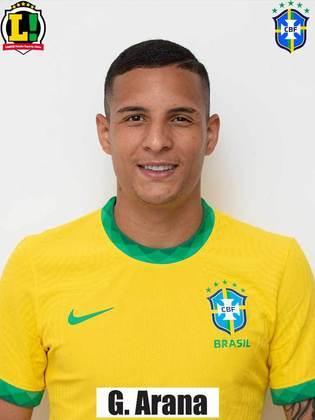 Guilherme Arana - 6,0 - Atuação segura. Apoiou o ataque e não comprometeu na defesa