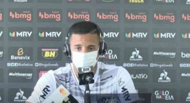 """Guilherme Arana afirmou que o caso dos """"baladeiros"""" será tratado internamente pelo clube"""