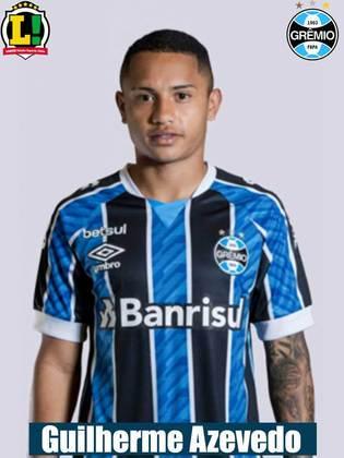 Guilherme Azevedo - 5,5: Tentou algumas jogadas de velocidade, mas sem sucesso. Demonstrou vontade.